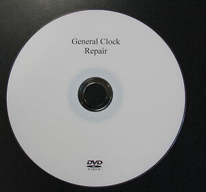 NEW General Clock Repair DVD by Bruce Rasmessum (VDO-101)