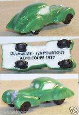RARE CHARM 2014 DELAGE D8 120 POURTOUT AERO COUPE 1937 VERTE FEVE PORCELAINE 3D