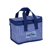 Lunch Cooler Bag BLUE Tote Easy Carry Picnic Food Storage Thermal Folded Student