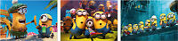 Despicable Me 2 Minions Poster Set - A4 A3 A2 Sets Available