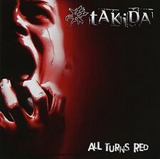 All Turns Red - Takida (2014, CD NIEUW)