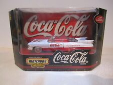 Matchbox Collectables COCA-COLA 1959 Cadillac Convertible White & Red with Santa
