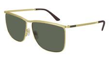 Neues AngebotGucci Sonnenbrille GG0821S  004 Gold - Grün - Mann