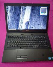 FAST Dell Precision M6600 Intel I7-2760qm 2.4-3.5Ghz 8GB ram 256GB W10 AMD M6100