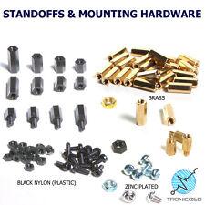M3 6mm 8mm 10mm 12mm Hex Hexagonal Pillar Standoff Spacer Pillar PCB Brass Nylon