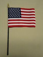 "U.S. United States 49 Star 1959 - 1960 Historical Miniature Desk Flag 4"" X 6"""
