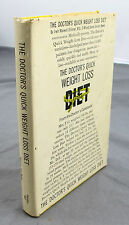 The Doctor's Quick Weight Loss Diet Stillman & Baker Prentice Hall 1967 HC BCE