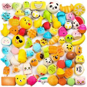 Cute Sweet Mini Soft Squishy Bread Toys Key Mobile Phone Bag Squeeze Strap Charm