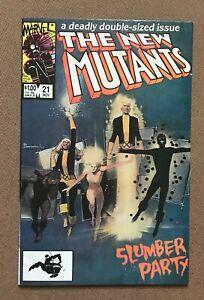 New Mutants #21 - Warlock Magik