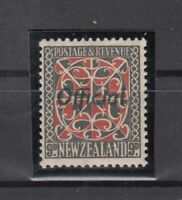 BJ6535/ NEW ZEALAND – OFFICIAL – SG # O129 MINT MH – CV 125 $