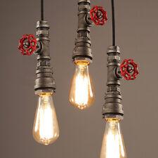 Loft Retro Industrial Iron Pipe Vintage Ceiling light Pendant Lamp Fixtur AU