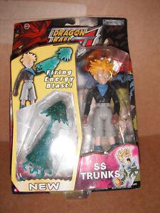 Dragon Ball GT Series III Figure: SS Trunks with Firing Energy Blast