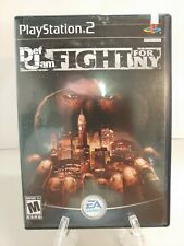 **REPLACEMENT CASE/BOX ONLY!* Def Jam Fight for NY PlayStation 2 PS2 Black Label