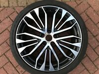 """GENUINE OEM AUDI A6 S6 4G C7 20"""" COMPETITION ALLOY WHEEL & TYRE 4G0601025CR"""