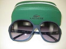 Lacoste Sunglasses L613S Shiny Blue 424 Brand New Demo! 100% Authentic Genuine