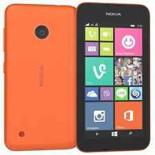 NUOVO Nokia Lumia 530 Dual Sim Arancione 4gb 3g Sbloccato Windows Phone - 1 anni di garanzia
