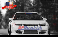 BF GOODRICH Tires Red/Blue Windshield Banner Decal Sticker