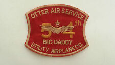 Vietnam War Patch US 54th UTILITY AIRPLANE Company OTTER AIR SERVICE BIG DADDY