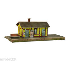 Building AUFHAUSEN RAILWAY STATION Germany HO Scale 1/87 Railroad Model Kit