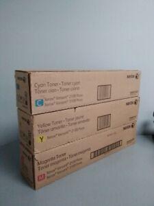 New Genuine Xerox Versant 2100 / 3100 Toner Yellow magenta Cyan