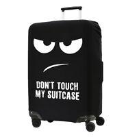 Hülle Kofferschutzhülle für Koffer Koffer XL Weiß Schwarz Schutzhülle