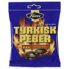 Fazer Tyrkisk Peber Original Hot Salmiak & Pepper Candy 120g
