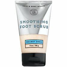 Bath & Body Works Walnut Shell Smoothing Foot Scrub 4 oz - With Peppermint Oil