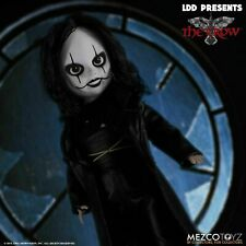 "Mezco Living Dead Dolls The Crow 10"" Doll - Pre-Order Mezco Toyz Brandon Lee !"