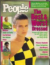 Madonna Princesa Stephanie Personas Revista 10/28/85 Best & Worst Vestido Pc