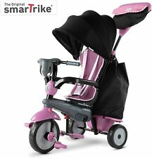 SmarTrike Classic Swirl 4 in 1 Kids Tricycle Trike 15 to 36 Months Pink NEW