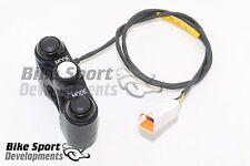 Bicicleta de carreras de DUCATI 899,1199,959 Conjunto de Interruptor 3 botón Manillar, modo de arriba abajo, set -