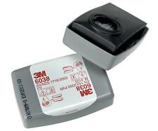 3M CARTUCCIA FILTRO 6038 P3 R PARTICOLATO POLVERE vapore GAS - BOX DA 10 paia
