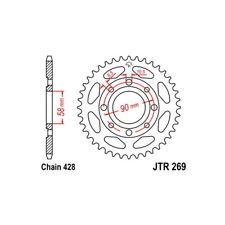 CORONA S AC P428-D41   08/10 KYMCO PULSAR 125 54.1020141