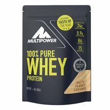 Multipower 100%PureWhey wasserlösliches Protein Salty Peanut Caramel 450g Beutel