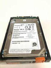 "EMC VMAX 005050262 600GB SAS 10K 6GBPS 3.5/"" Drive w//Tray 118032933"