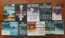 VAL MCDERMID BULK LOT - WIRE IN THE BLOOD/FEVER OF THE BONE/A DARKER DOMAIN/RETR