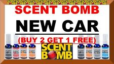 (BUY 2 GET 1 FREE) SCENT BOMB 100% CONCENTRATED OIL BASE Air Freshener (NEW CAR)
