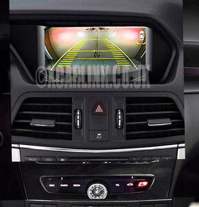 Mercedes C/E/A/ML/B Class Rear Reverse Camera Interface Dynamic Lines NTG4.5