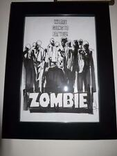 Mondo ORIGINAL ART JOCK ZOMBIE ZOMBI FULCI  IN PROGRESS GALLERY SHOW 2013