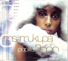 MS MUKUPA POPLIFE 2000 CD Single Techno HOUSE DANCE MAX MUSIC BIT MUSIC