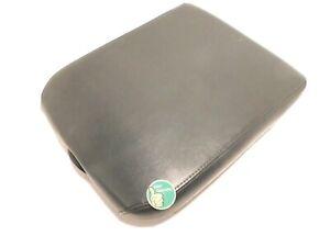 ✅ 2002-2012 DODGE RAM 1500 2500 BLACK LEATHER CENTER CONSOLE LID ARM REST TOP
