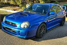 SUBARU Impreza STi WRX Body Kit,lips,side extensions 01-02 BUGEYE. HT Autos UK