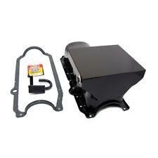 86-02 SBC Chevy Black 7qt Drag Style Oil Pan 1 Pc 350 / STD. Pickup Bolts Gasket