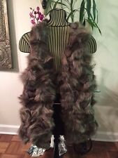 The Cue Rabbit Fur Sweater Vest