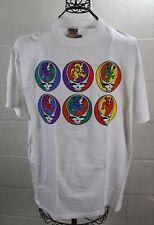VINTAGE 90'S GRATEFUL DEAD Bears Skull Graphics T-Shirt Official License NEW L
