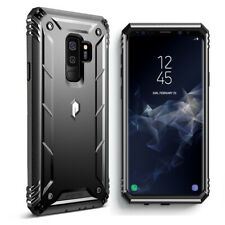 "For Samsung Galaxy S9 Plus Case ""Shockproof""Cover-【Revolution】Black"