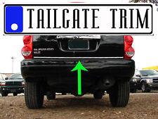 Chrome Tailgate Trunk Molding Trim - Dodge