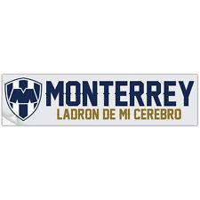 Rayados Monterrey Bumper Sticker Calcamonia Soccer Futbol Liga MX Pandilla MTY