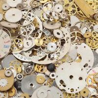 20g Pieces Lot Vintage Steampunk Wrist Watch Old Parts Gears Wheels Steam Punk
