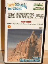 Mt. Whitney Trail Push To Summit VHS Video Mountaineering Switchback to Summit !